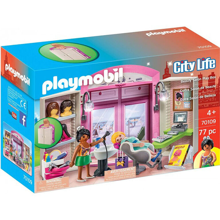 Playmobil Hairdresser Play Box Toys R Us Canada